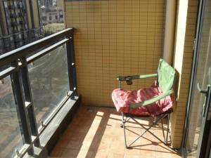 Min lilla hörna på balkongen