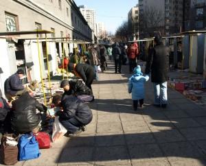 Snabbt besök på Panjiayuans jätteloppmarknad