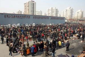 Panjiayuan - loppmarknad i Beijing