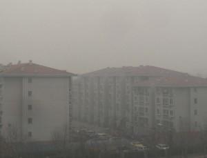 Smog över Beijing
