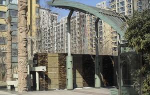 Vattnet porlar igen på Hongyan Road
