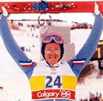 "Eddie ""The Eagle"" Edwards i Calgary-OS 1988"