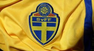 Svensk landslagströja köpt i Beijing