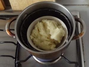 Värma potatismos