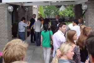 Nationaldagsfirande på Svenska Ambassaden i Beijing onsdagen den 6 juni 2012