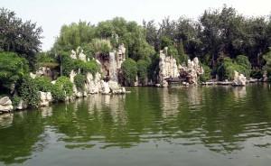 Longtanparken i Beijing den 10 juli 2012